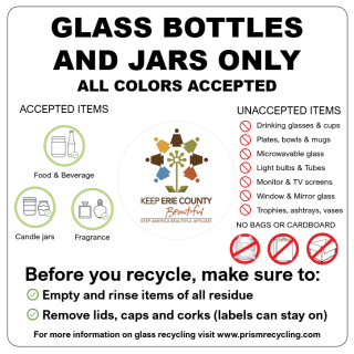 glass recycling information