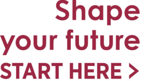 Shape your future!